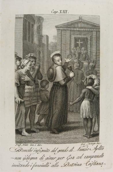 <em>Saint François-Xavier dans les rues de Goa </em>(1793)