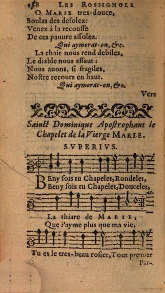 Les Rossignols spirituels (1616)